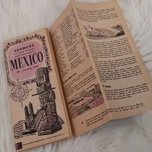 Old travel guide to Mexico
